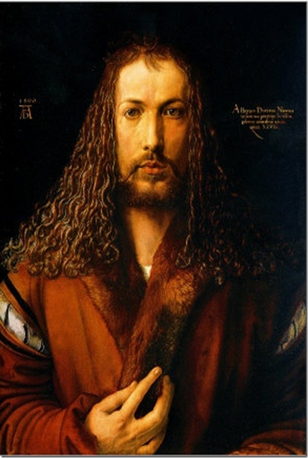 Albert Durer  Christ like Self Portrait
