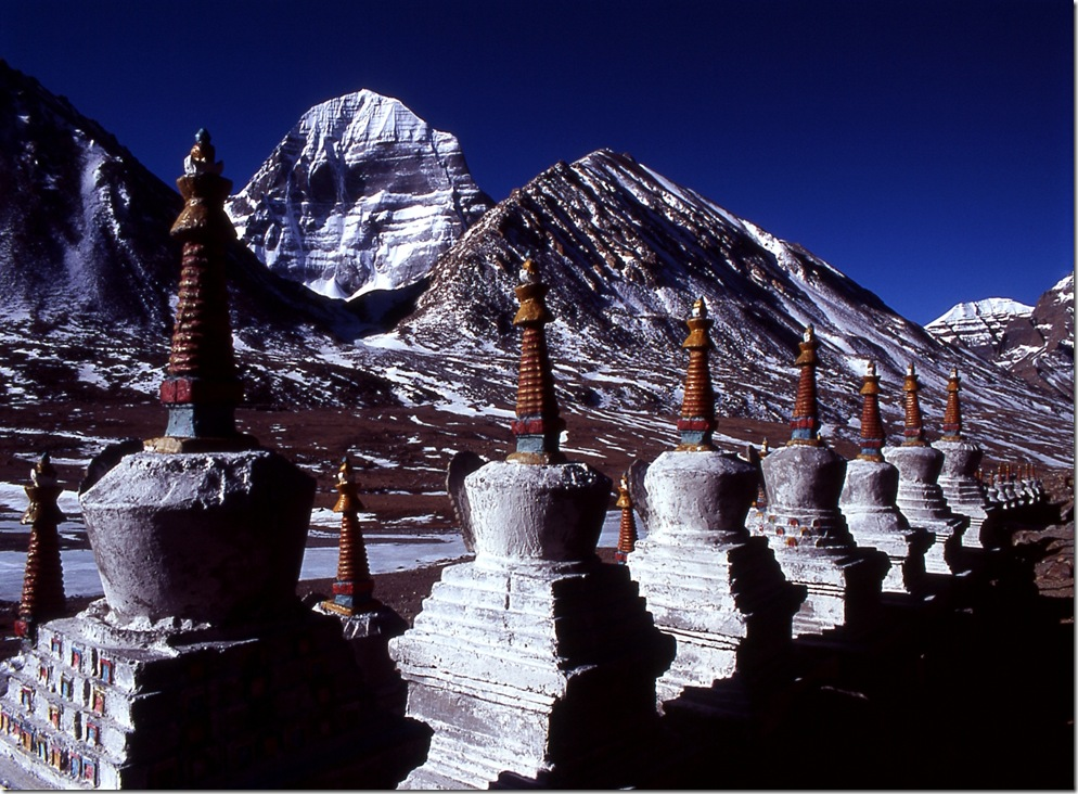 Chortens and Kailash
