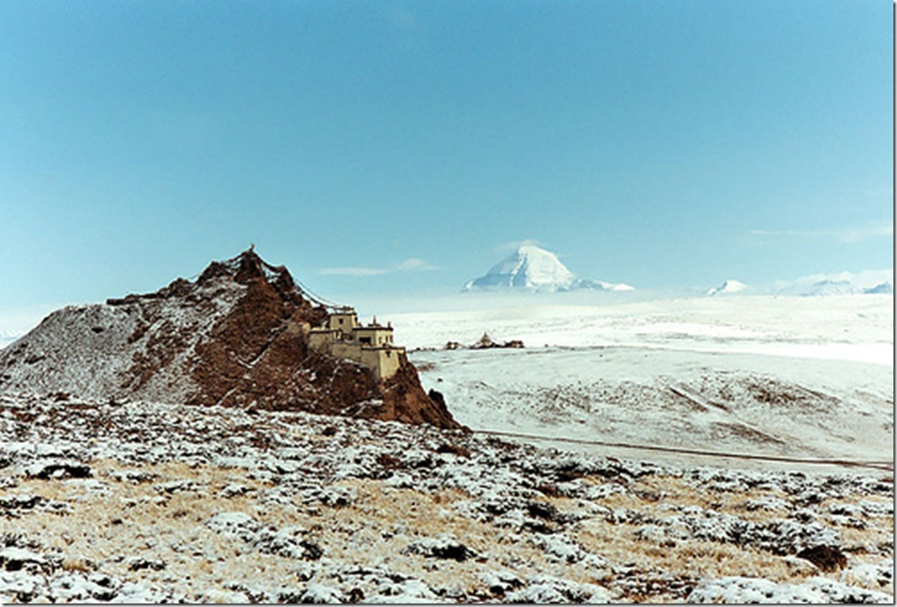 View of Kailash